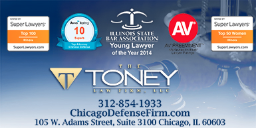 Sarah Toney attorney information representing how this blog post is co-authored by Sarah Toney and how you can contact our Chicago professional license attorney today